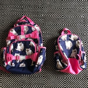 Pottery barn kids backpack and lunch box